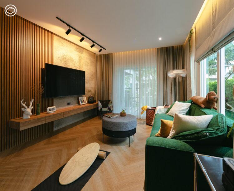 บ้านจัดสรรจัดสวยของคู่รักโปรดักชัน ฮอลล์-กวาง มีทั้งที่ทำงานและโฮมคาเฟ่ของตัวเอง
