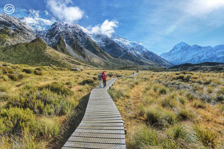 บันทึกการเดินทางและภาพถ่ายฝีมือคุณพ่อในทริปเดินเท้า Hooker Valley Track เกาะใต้ ประเทศนิวซีแลนด์